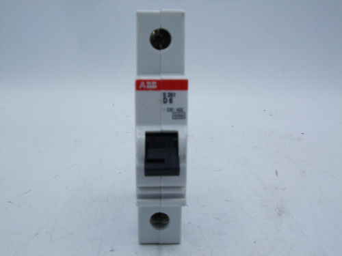 (4) ABB S 261 B6 and D6 Circuit Breakers