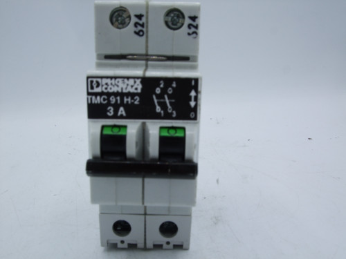 Phoenix Contact TMC 91 H-2 Circuit Breaker 3A