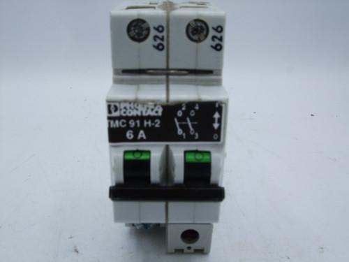 Phoenix Contact TMC 91 H-2 Circuit Breaker 6A