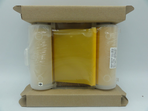 "Globalmark Y93887 Yellow Monochrome Ribbon Cartridge, 4.11"" x 200'"