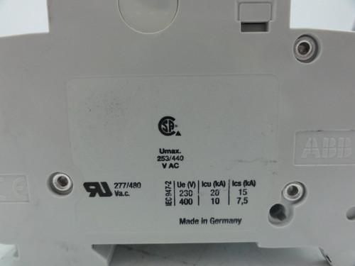 (Lot of 3) ABB S203 K10A 3 Pole Circuit Breakers