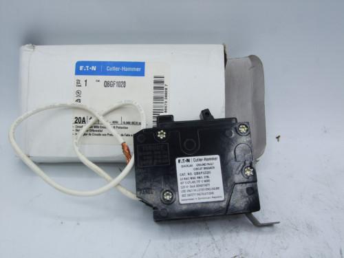 Eaton Cutler Hammer QBGF1020 1-Pole 20A Circuit Breaker