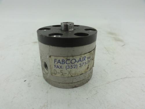 (Lot of 3) Fabco-Air Cylinders, D-5-X, D-7-X, G-7-X