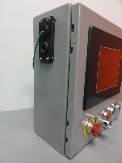 Saginaw SCE-16EL1606LP Enclosure w/ Automation Direct EA7-T8C+08818B100 Monitor