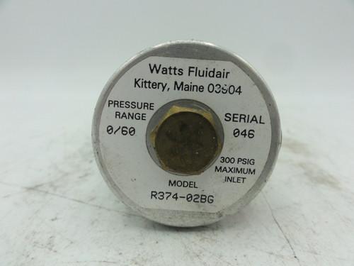 Watts Fluidair Inc. R384-02BG Pressure Valve