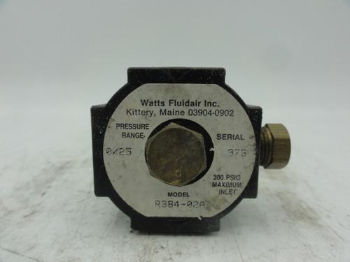 Watts Fluidair Inc. R384-02A Pressure Valve