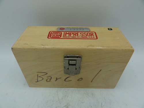 Barber Colman GYZJ 934-1 Portable Hardness Tester