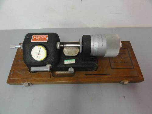 Starrett No. 673 Bench Micrometer