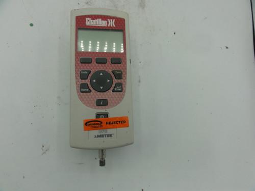 Ametek Chatillon DFE Digital Force Gauge- Parts/ Repair