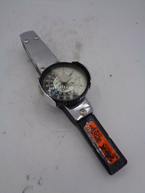 Proto 6169A Dial Torque Wrench, IN-LB/CMKG w/ Case