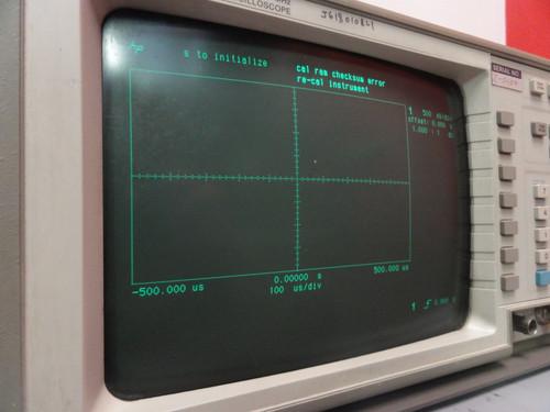 Hewlett Packard 54510A Digitizing Oscilloscope