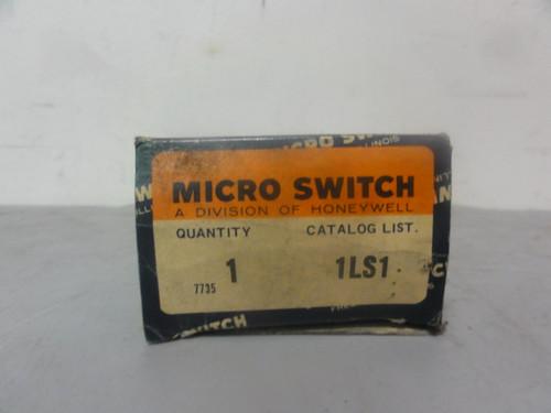Honeywell Microswitch 1LS1 Precision Limit Switch- New (Open Box)