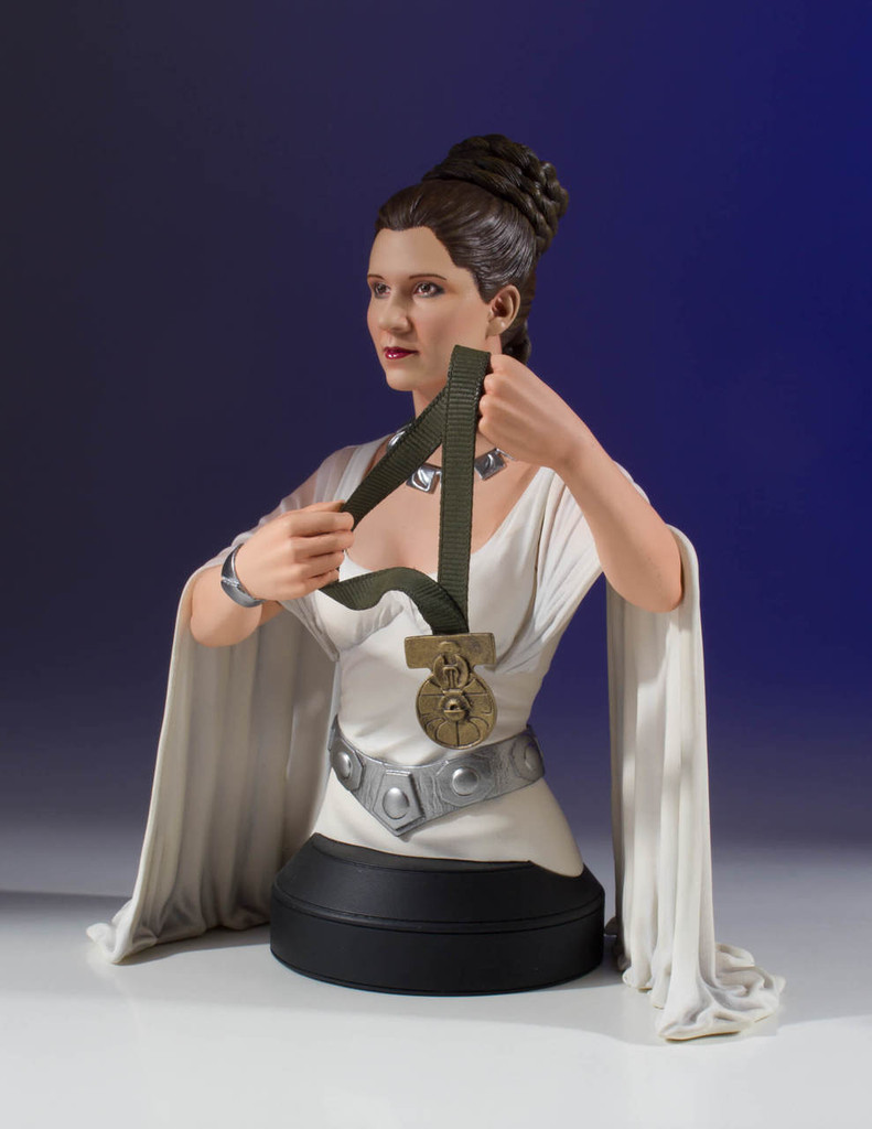 Leia Hero Of Yavin Mini-Bust