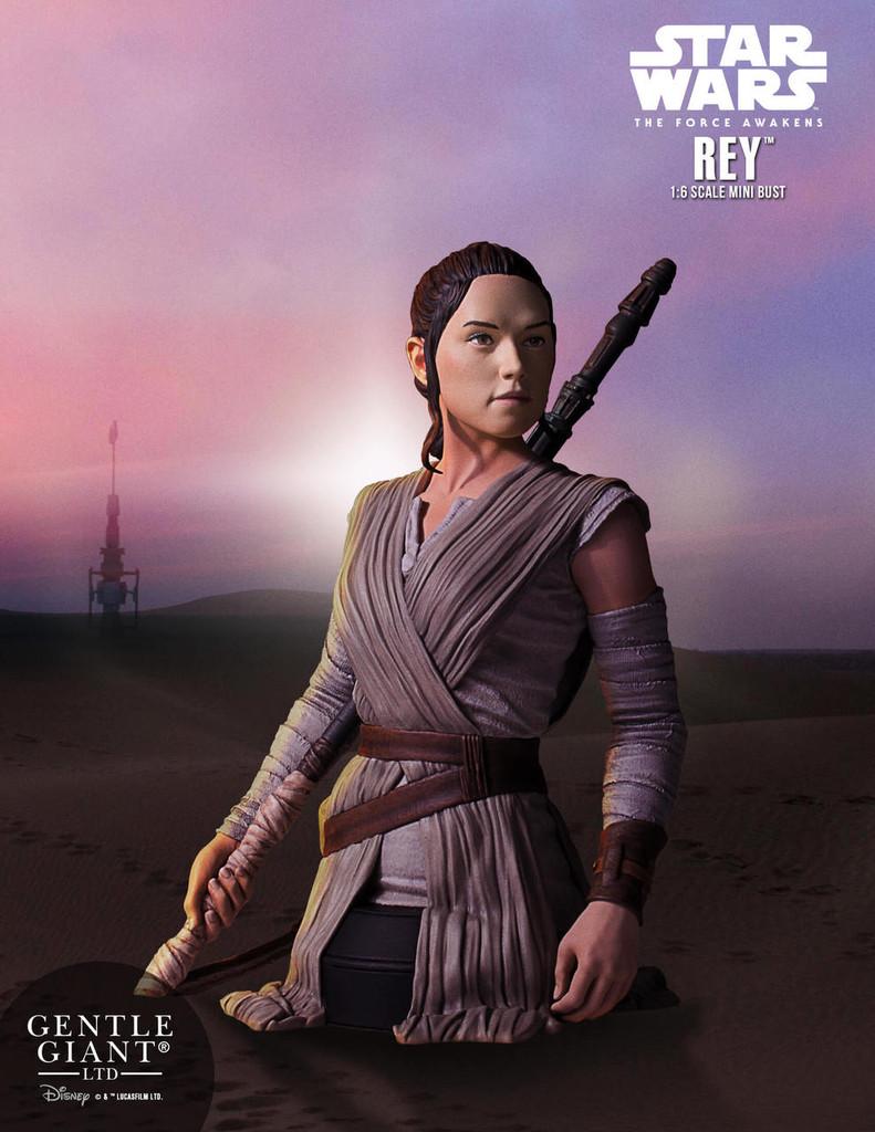 Rey Star Wars Episode 7 Mini Bust
