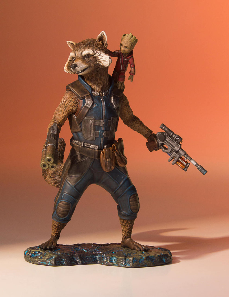 Rocket And Groot (Guardians Of The Galaxy Vol.2) Collectors Gallery Statue Thumbnail 2