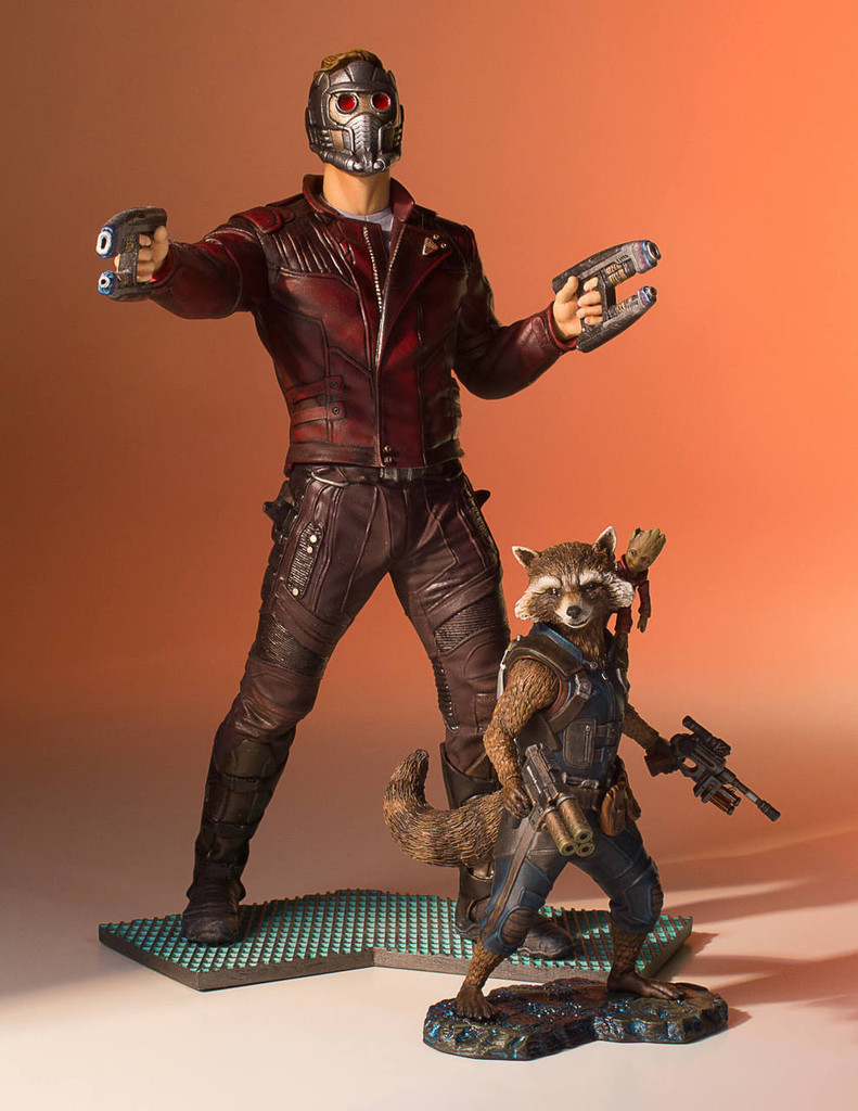 Rocket And Groot (Guardians Of The Galaxy Vol.2) Collectors Gallery Statue Thumbnail 8