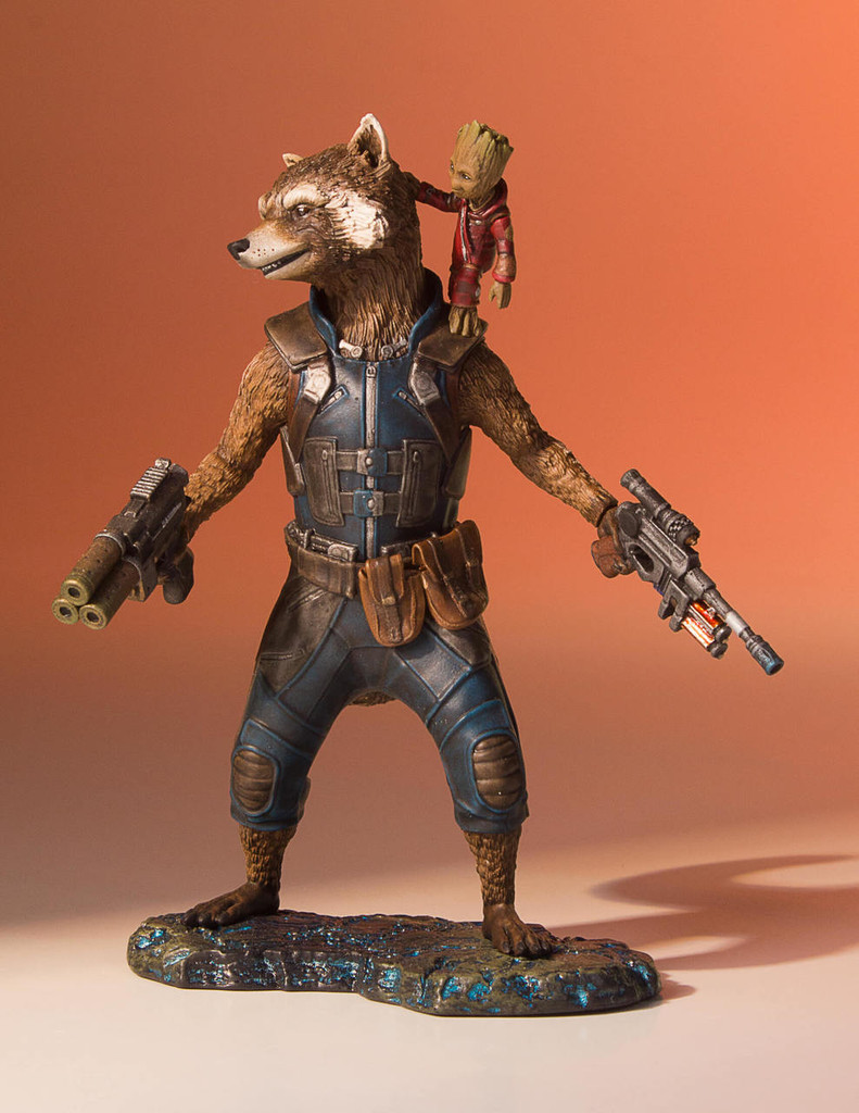 Rocket And Groot (Guardians Of The Galaxy Vol.2) Collectors Gallery Statue Thumbnail 9