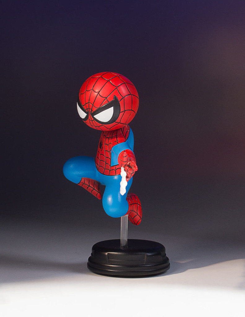 Spider-Man Marvel Animated Statue - 2017 Convention Exclusive