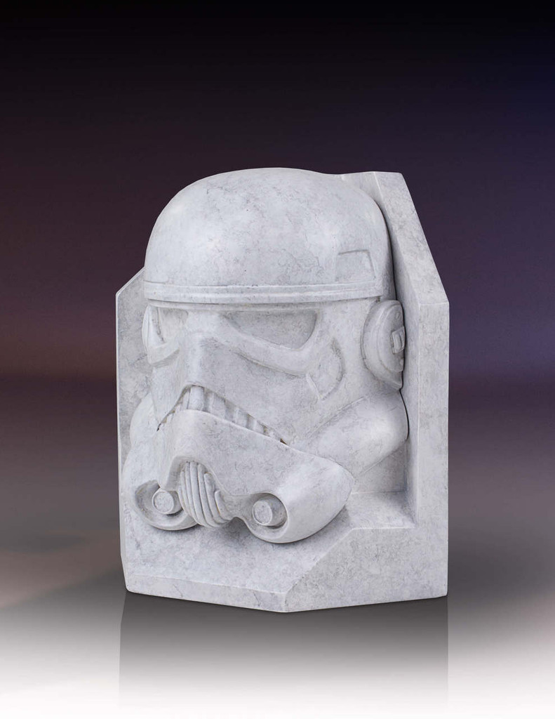 Stormtrooper Star Wars STONEWORKS Faux Marble Bookend