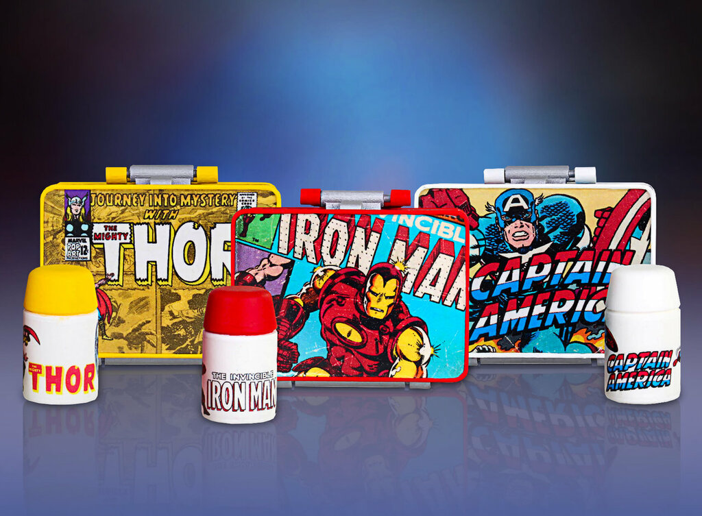 Marvel - Tiny Tin Pocket Pails - 2 Pack