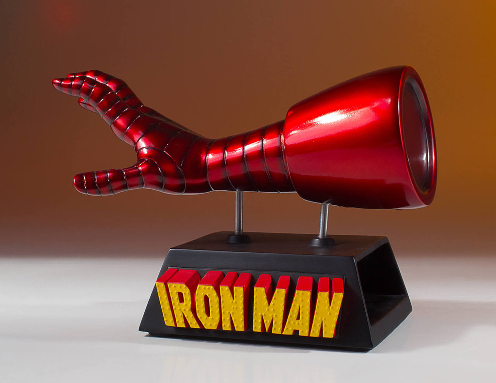 Iron Man Business Card Holder Desk Accessory