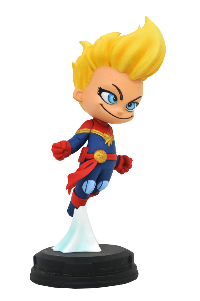 Captain Marvel Animated Statue