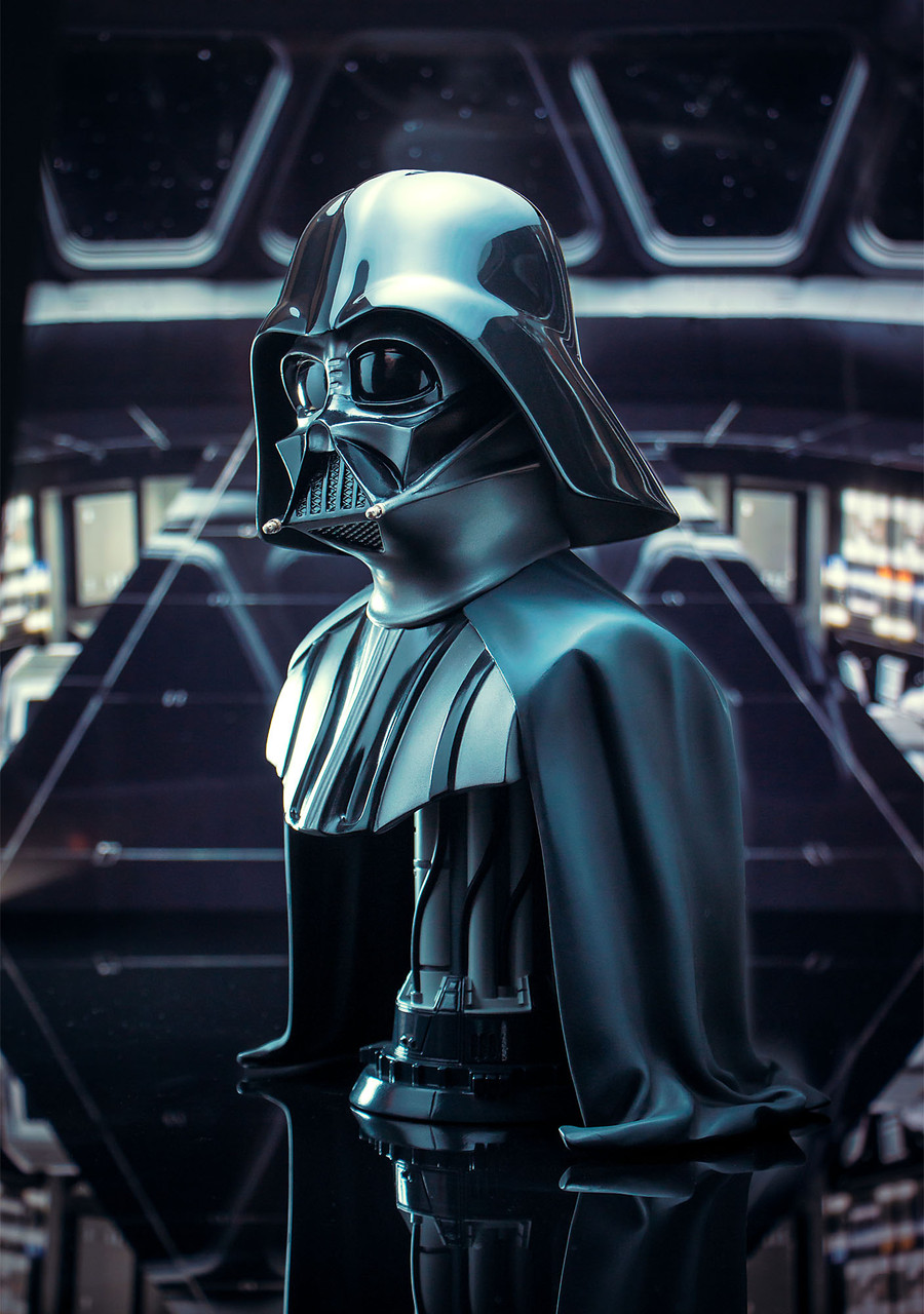 Star Wars: The Empire Strikes Back - Darth Vader - Legends in 3-Dimensions 1/2 Bust 02_-_Left__55614.1608321577
