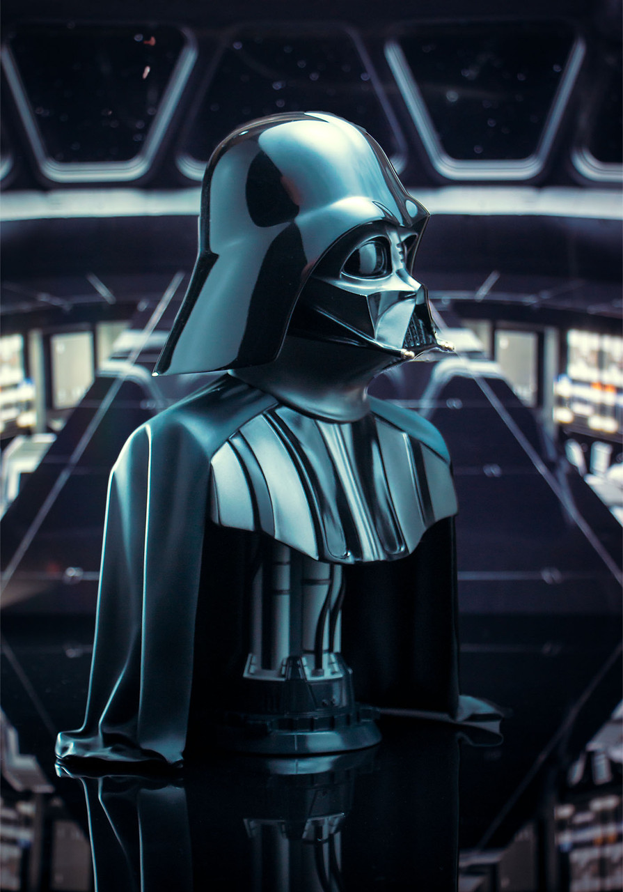 Star Wars: The Empire Strikes Back - Darth Vader - Legends in 3-Dimensions 1/2 Bust 03_-_Left__88451.1608321567