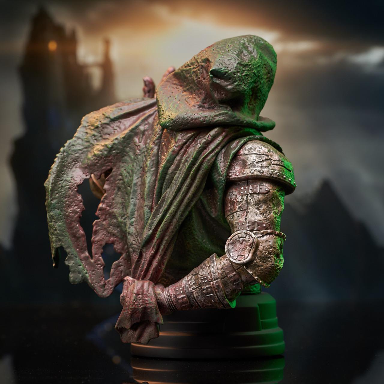 Doctor Doom (Zombie) Mini Bust - 2021 NYCC Exclusive Marvel_ZombieDoom_Bust_04__23179.1628206893
