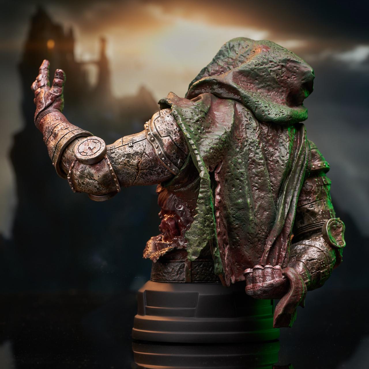 Doctor Doom (Zombie) Mini Bust - 2021 NYCC Exclusive Marvel_ZombieDoom_Bust_03__13362.1628206892
