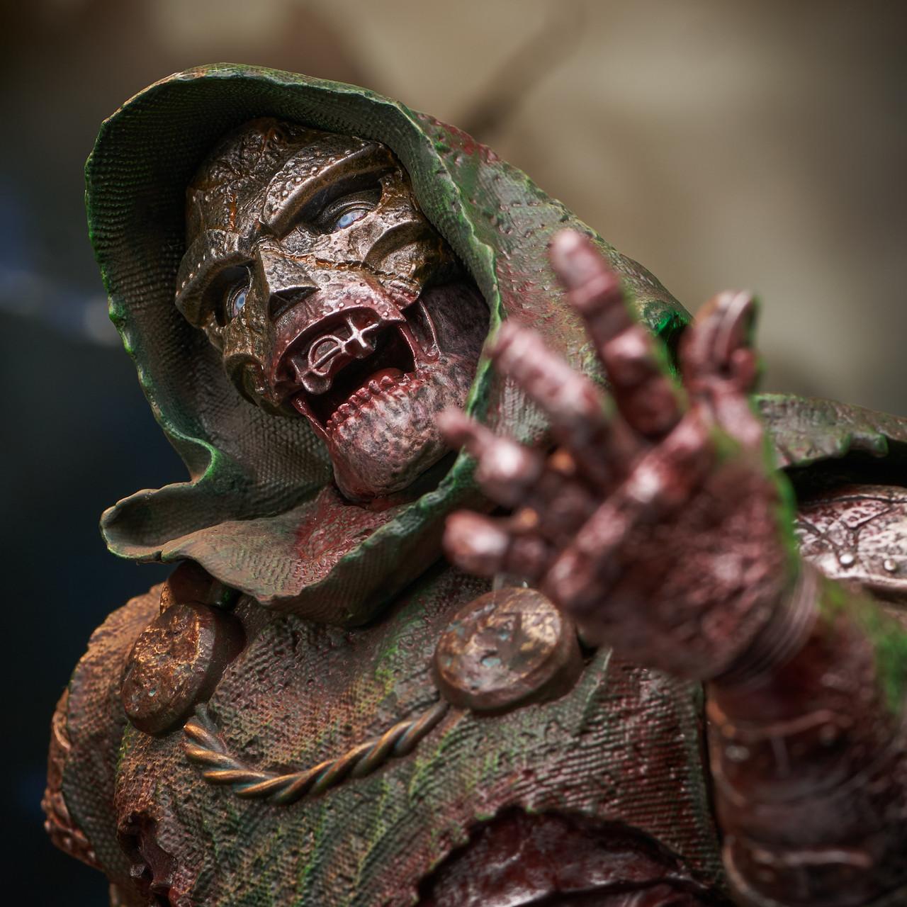 Doctor Doom (Zombie) Mini Bust - 2021 NYCC Exclusive Marvel_ZombieDoom_Bust_06__78649.1628206901