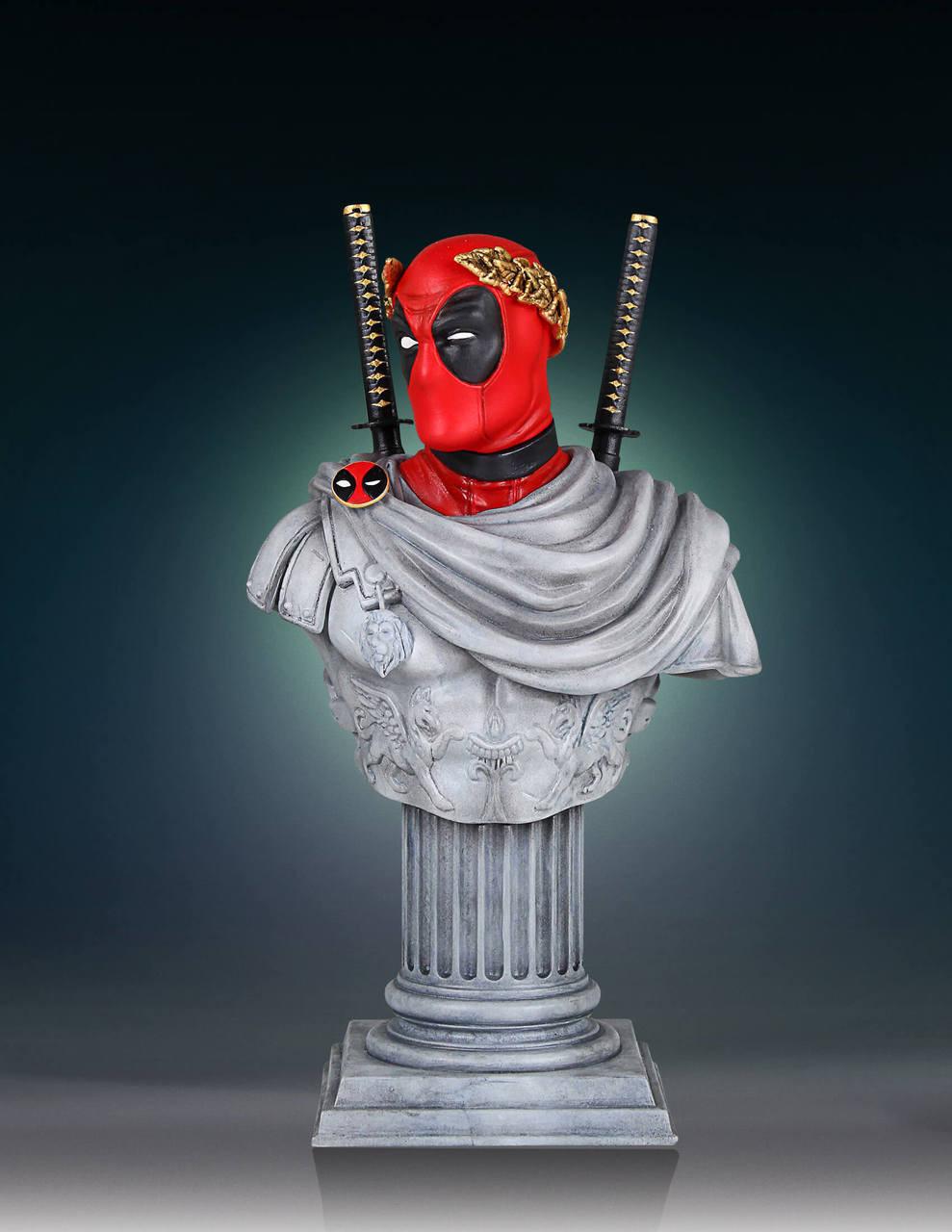 MARVEL Deadpool Caesar Classic Mini Bust Statue