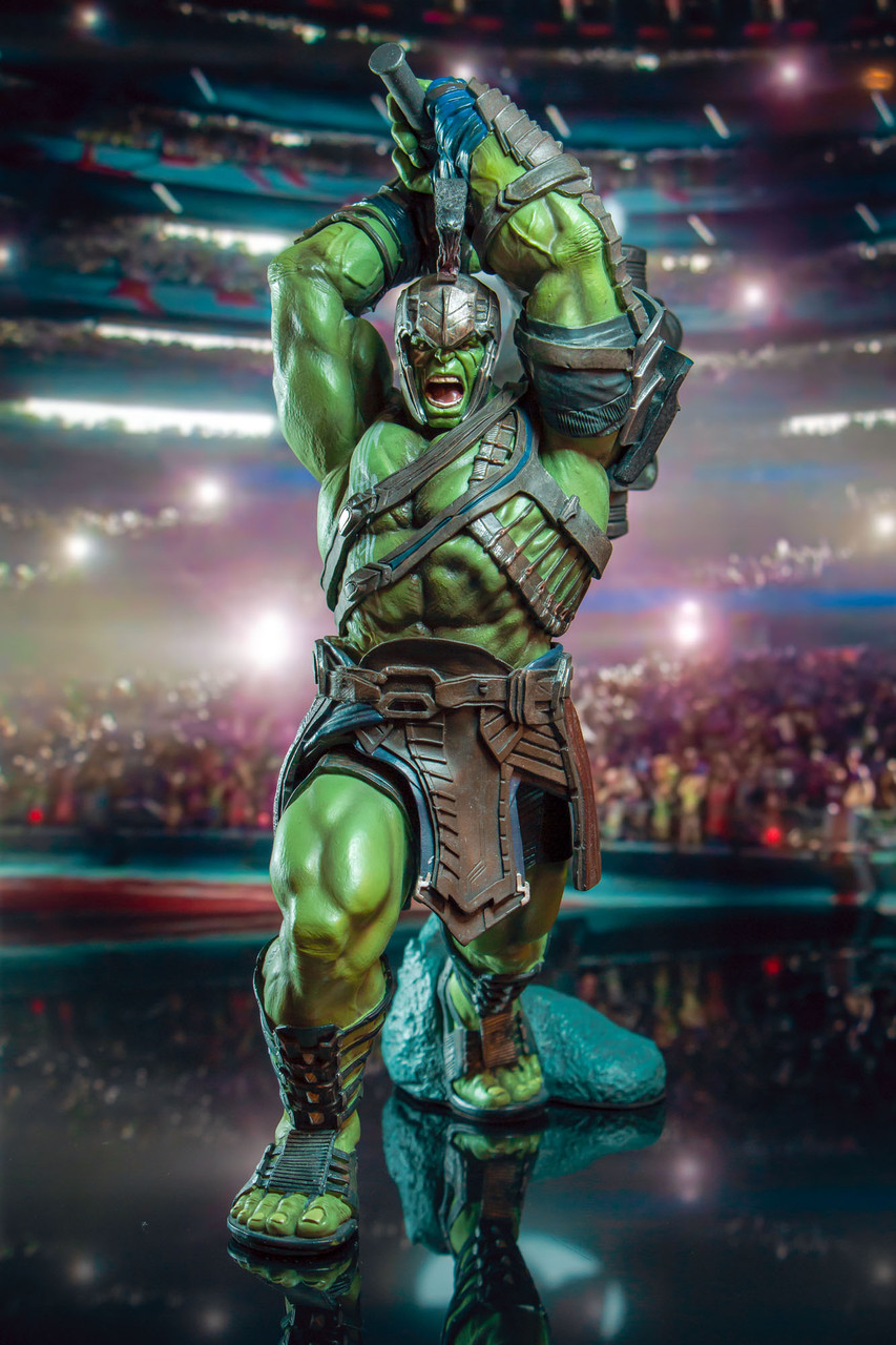 Marvel Thor Ragnarok Hulk Collectors Gallery Statue Gentle Giant Ltd