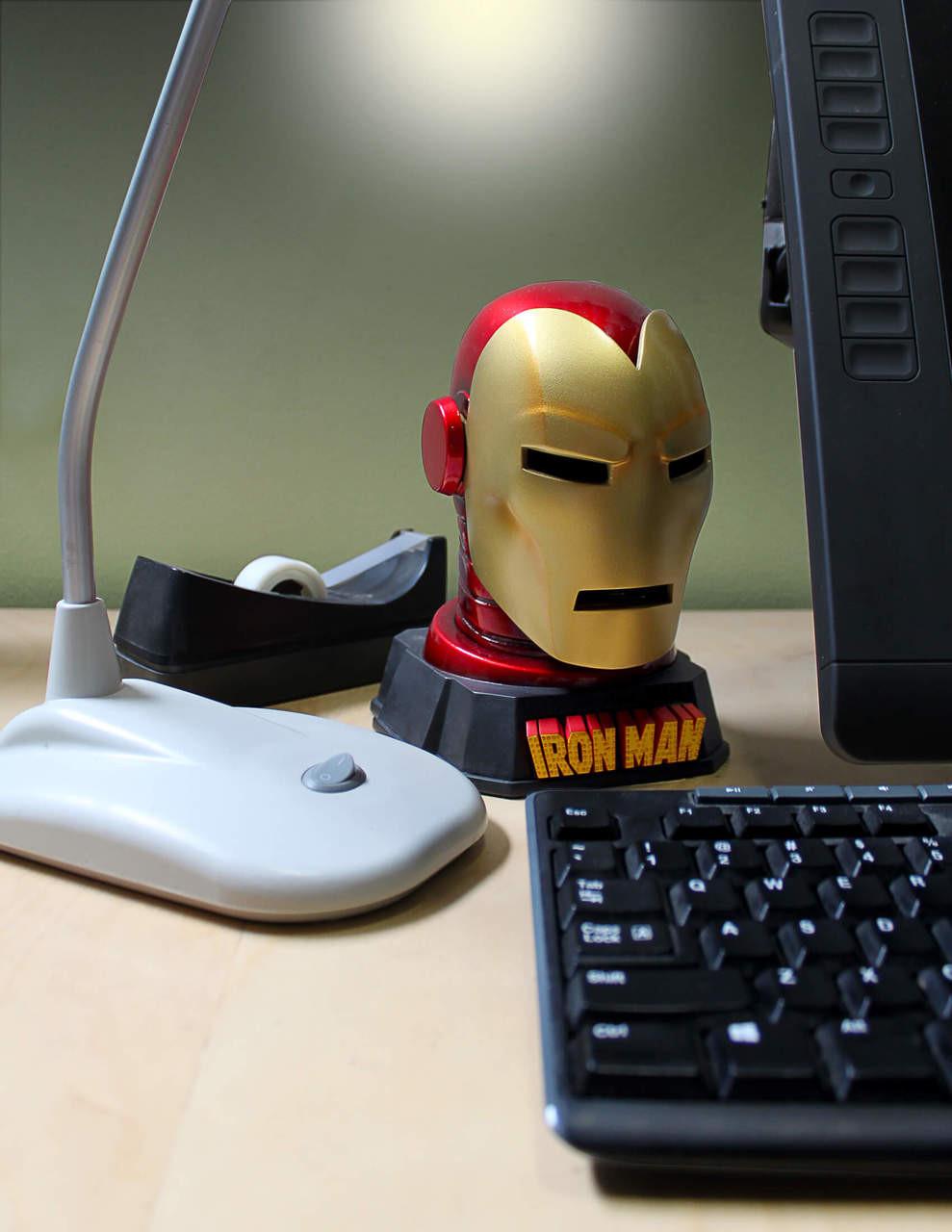 Iron Man Helmet Desk Accessory
