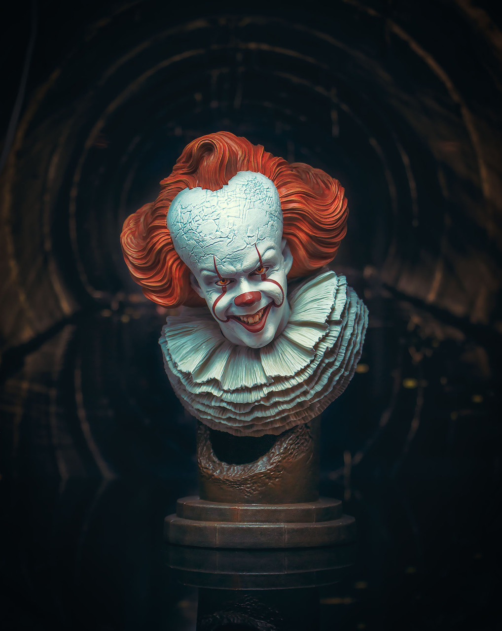 Le chapitre 2 Legends in 3D Pennywise 1:2 Scale Bust PRE ORDER