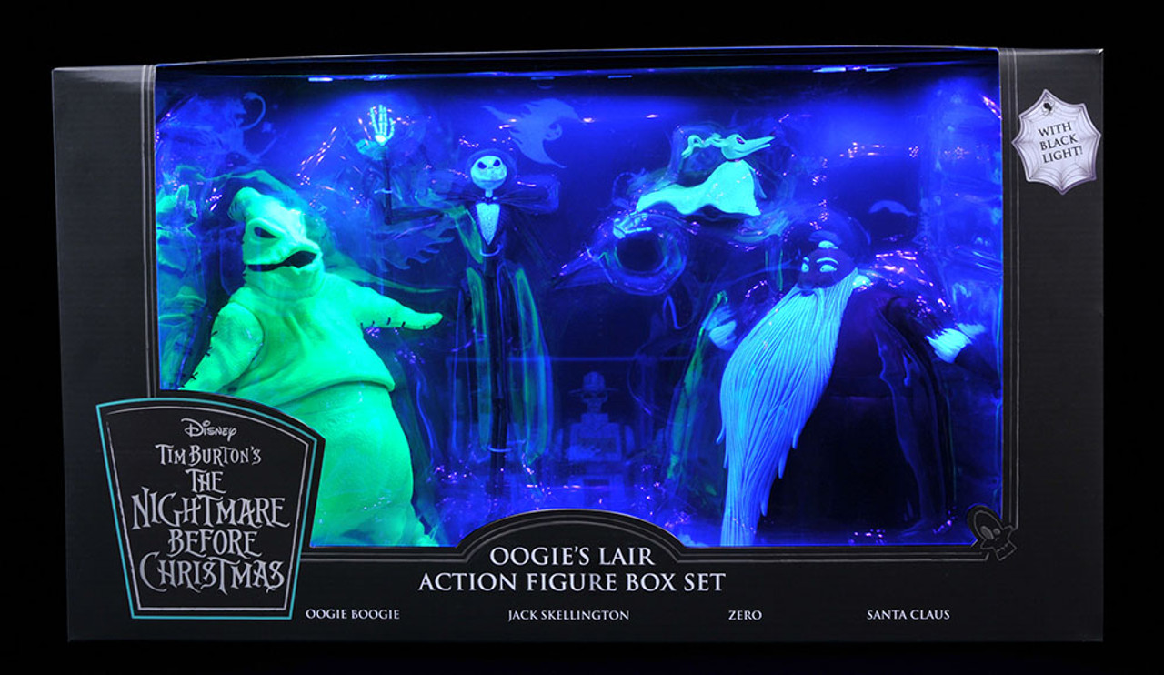Nghtmre Before Christmas Tour 2020 Nightmare Before Christmas   SDCC Deluxe Action Figure Set   2020