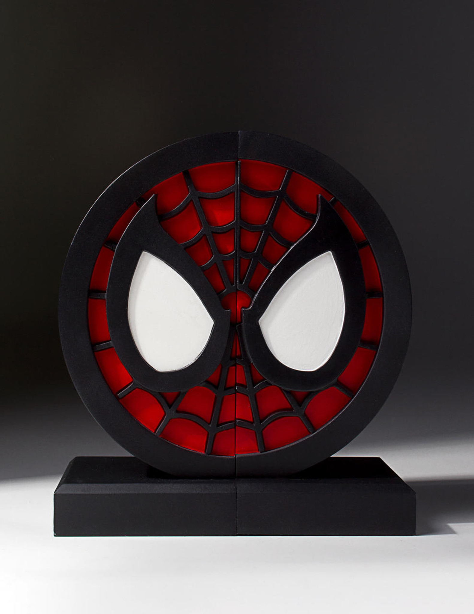 Spider Man Logo Bookends Collectible Gentle Giant