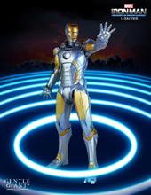 Metropolis Iron-Man Armor Variant Statue Thumbnail 3