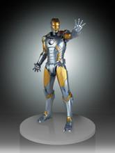 Metropolis Iron-Man Armor Variant Statue Thumbnail 11