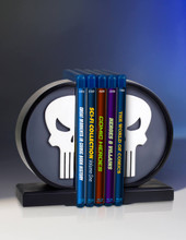 Punisher Logo Bookends