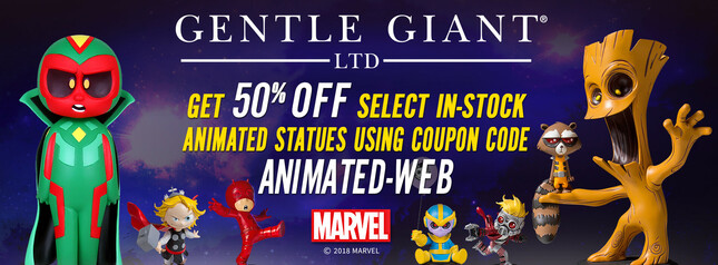 Final Week of our Marvel Animated Statue 50% Off Sale