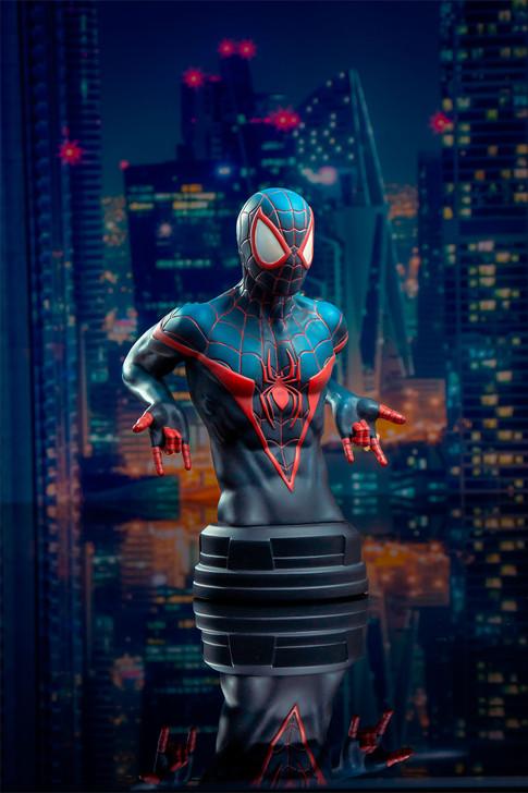 Miles Morales Spider-Man Mini Bust