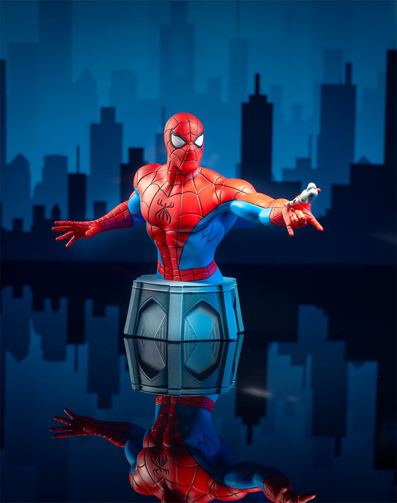 Spider-Man Animated Bust