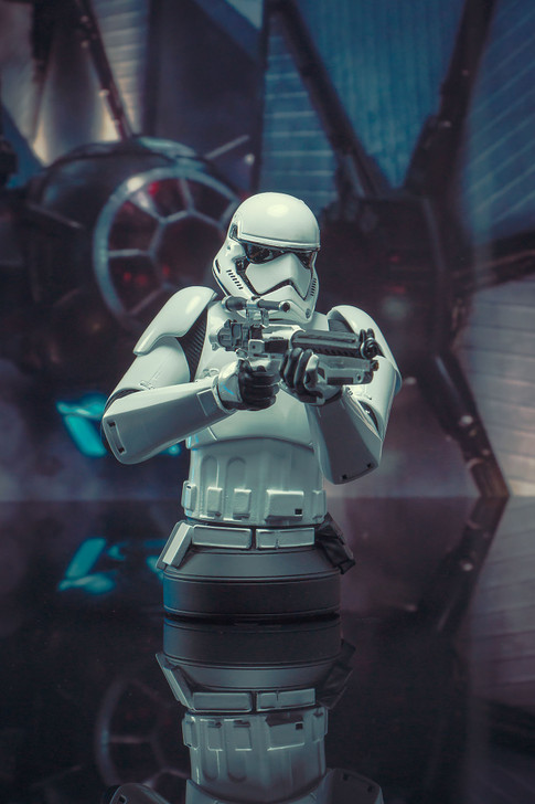 First Order Stormtrooper Mini Bust Set