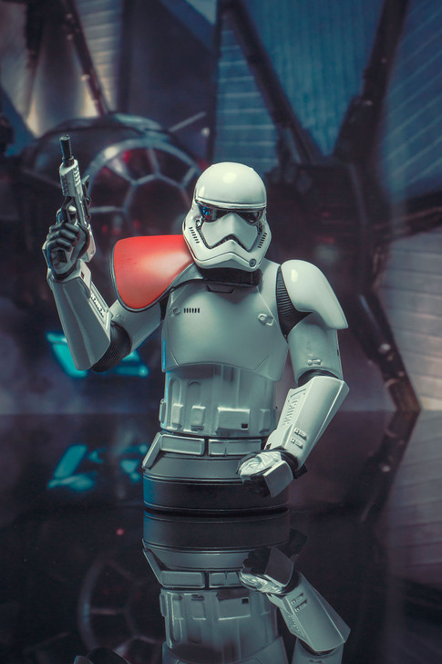 First Order Stormtrooper Officer Mini Bust Set