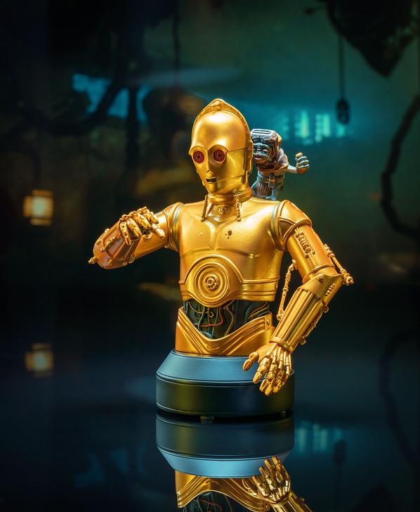 C-3PO™ & Babu Frik™ Mini Bust