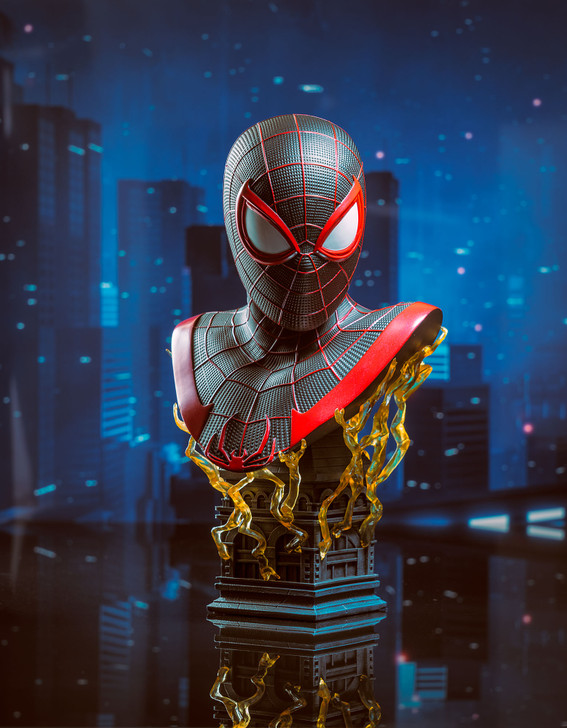 Miles Morales Legends in 3-Dimensions Bust