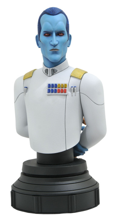 Grand Admiral Thrawn™ Animated Mini Bust