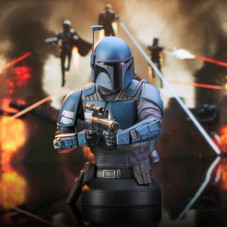 Star Wars: The Mandalorian™ - Death Watch™ Mini Bust - 2021 Showcase Exclusive