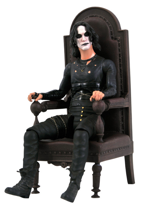The Crow - Eric Draven (in Chair) Action Figure - Box Set - San Diego 2021 Exclusive